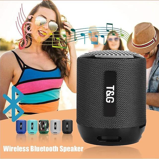T&G TG129 Outdoor Speaker Wireless Bluetooth Portable Speaker For PC Laptop Mobile Phone