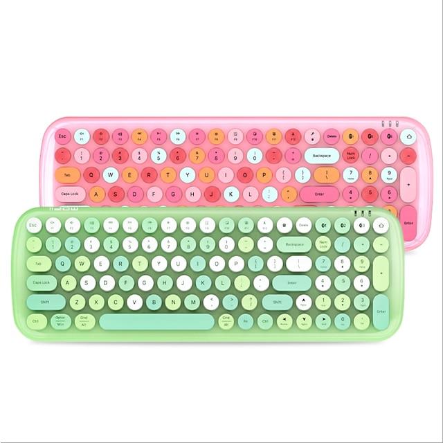 ferris hand mofi candy-bt bezprzewodowa klawiatura bluetooth tablet do telefonu komórkowego klawiatura bluetooth mysz dziewczyna w proszku