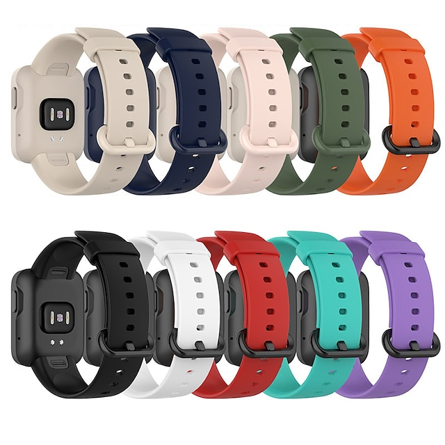 Smart Watch Band for Xiaomi 1 pcs Sport Band Silicone Replacement  Wrist Strap for Redmi band