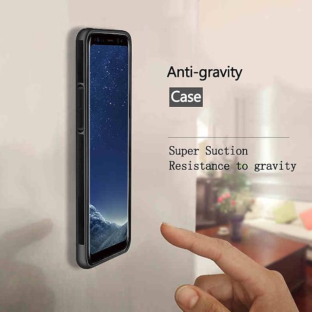 telefon Etui Til Samsung Bakdeksel S20 S20 Plus S20 ultra S9 S9 Plus Note 20 Ultra S10 S10 + S10 Lite Note 10 Anti Gravity Støtsikker Støvtett Flise Ensfarget TPU PC