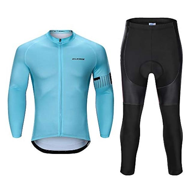 muški biciklistički dres s dugim rukavima postavlja biciklističku odjeću na otvorenom jahaća odijela brze suhe odjeće