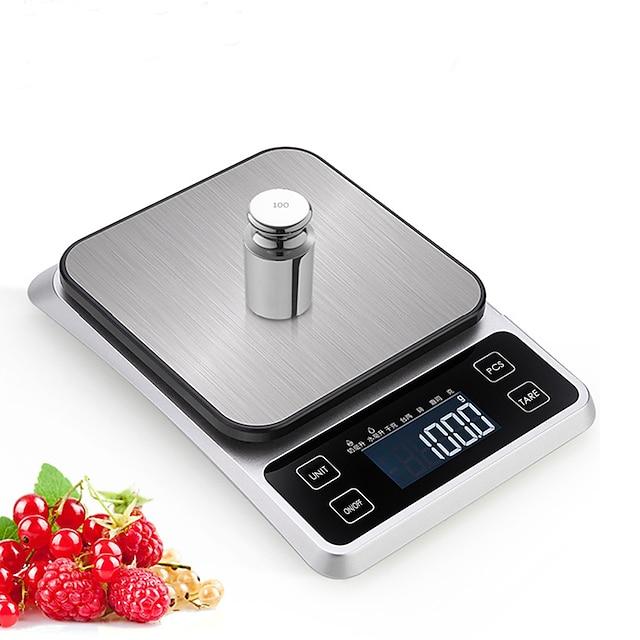 0,5g-5000g com display LCD de desligamento automático e multi-modo com balança de cozinha eletrônica diariamente