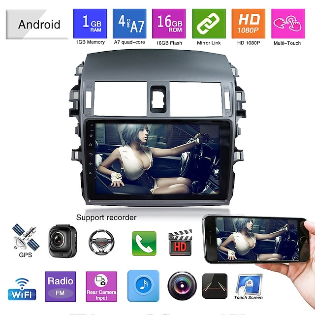 dedicated to old corolla navigation new corolla navigation integrated car gps navigator
