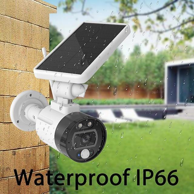 ouertech 1080p kültéri szolár wifi kamera töltő akkumulátor vezeték nélküli biztonsági kamera ip66 pir mozgásérzékelő golyó megfigyelés