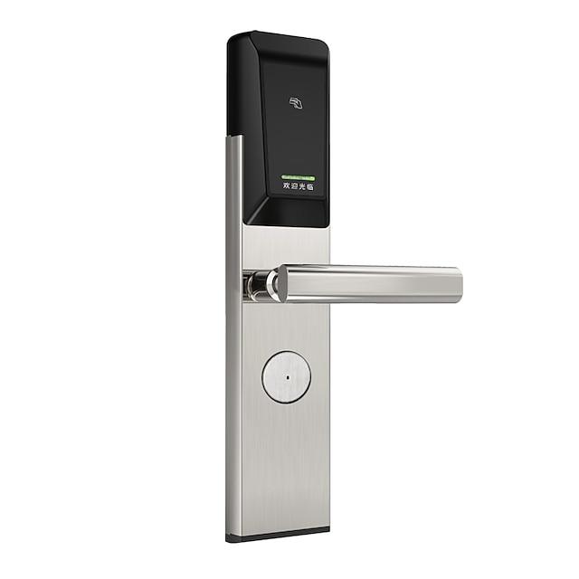 Sistema de gestión de hotel y cerradura de puerta inteligente Llave IC Tarjeta de desbloqueo Cerradura electrónica inteligente Sistema de cerradura de puerta