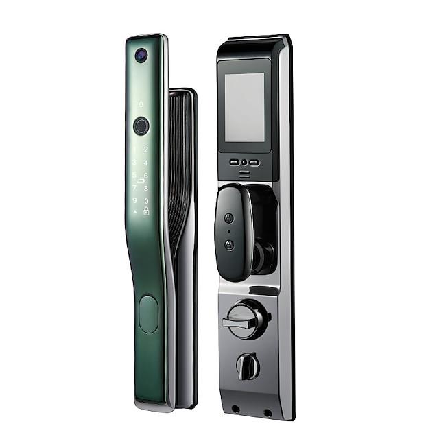 fingerprint lock automatic anti-theft door smart lock zinc alloy electronic lock remote capture password lock apartment door lock