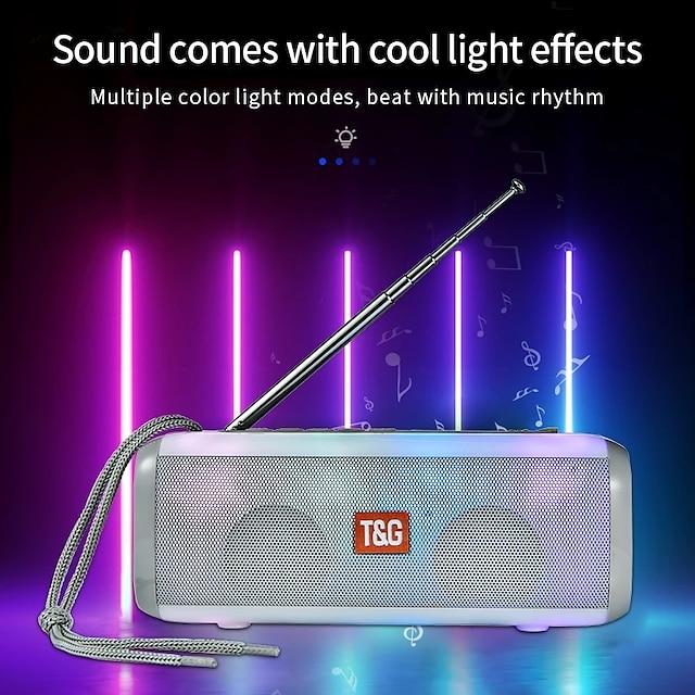 T&G TG144 Outdoor Speaker Wireless Bluetooth Portable Speaker For PC Laptop Mobile Phone