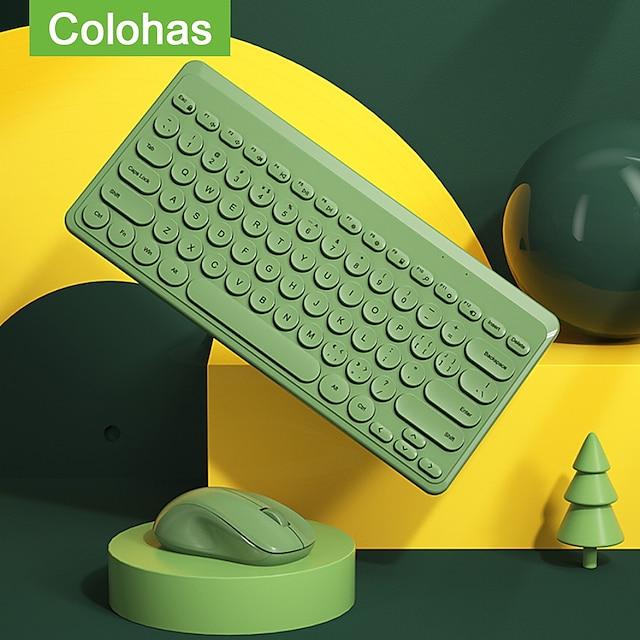 mini tastiera wireless mouse set 2.4g mouse tastiera da gioco wireless combo per laptop macbook xiaomi computer pc gamer tastiera