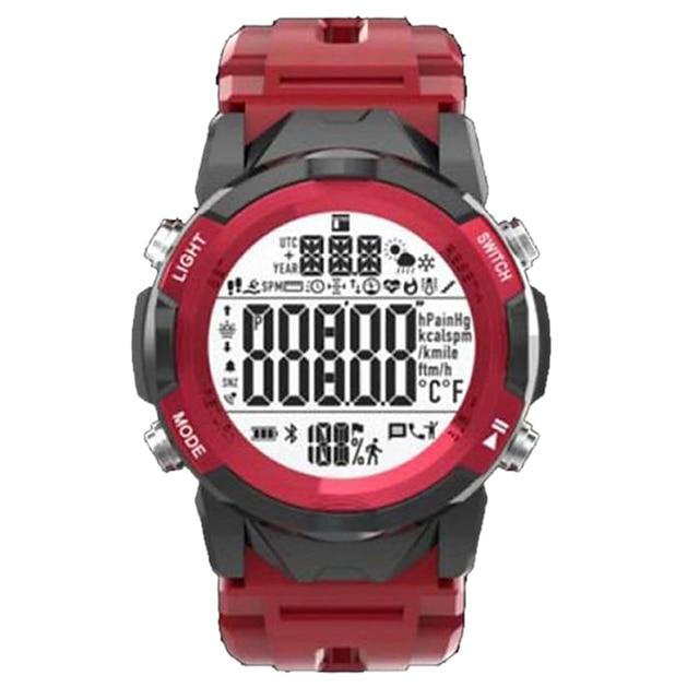 เลอโนโว C2 ดูสมาร์ท บลูทูธ นาฬิกาจับเวลา เครื่องมือวัดจำนวนก้าวที่เดิน ติดตามการนอนหลับ กันน้ำ ขอสัมผัส ตรวจสอบอัตรการเต้นของหัวใจ IP 67 กล่องนาฬิกา 47mmmm สำหรับ Android iOS ผู้ชายผู้หญิง / กีฬา
