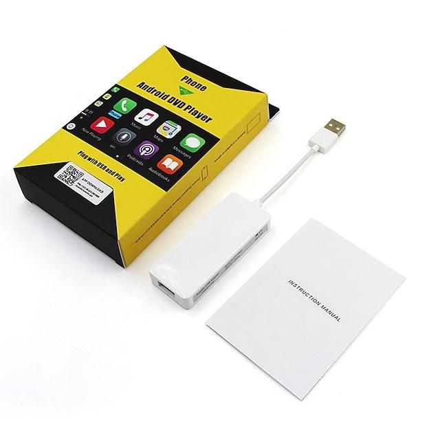 carpaly-C1 1 Din In-Dash DVD-spelare / Bil MP5-spelare / Bil GPS-navigator GPS / Fyrkärnig för Universell MicroUSB Stöd