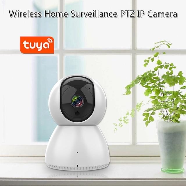 Smartrol 1080p Mini 2.4G AI Human Wifi Indoor Surveillance CameraIR Night Vision Device P2P Baby Monitor Pet Security IP Camera