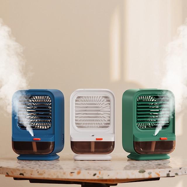 usb mini kannettava ilmastointilaite ilmanjäähdyttimen kostutinpuhdistin led-valo henkilökohtaisen tilan tuuletin ilmanjäähdytyspuhallin