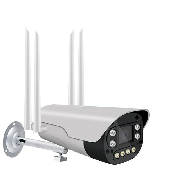 Wireless IP Camera 1080P HD Outdoor Surveillance Security Bullet Camera Two Way Audio IR WiFi Bullet Camera Onvif V380