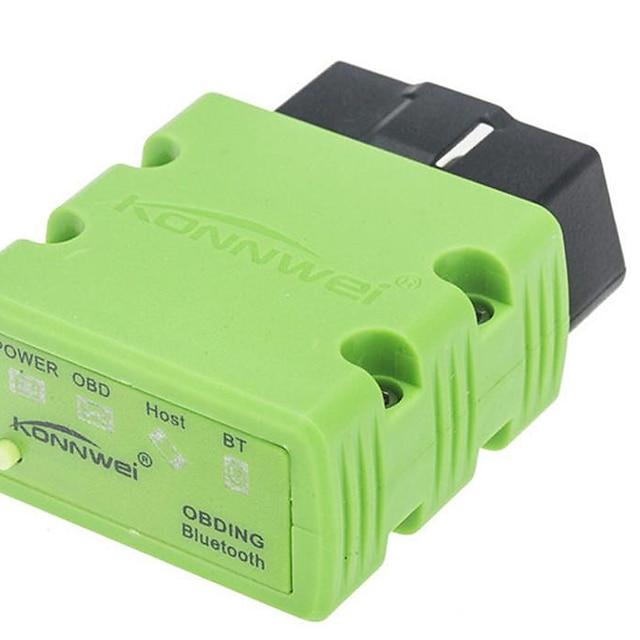 konnwei kw902 elm327 v1.5 Bluetooth bilfeil detektor diagnostisk verktøy skanner verktøy