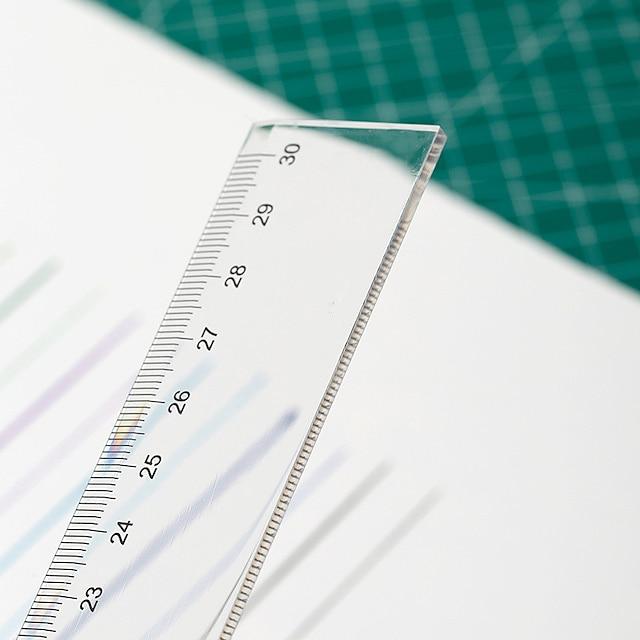 Straightedge 20 cm Ruler Gpps Ruler Large Quantity Favorably