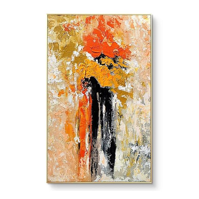 100% handmålad av professionell konstnär väggkonst handmålad modern abstrakt oljemålning på duk för vardagsrum heminredning ingen ram abstrakt konsistens
