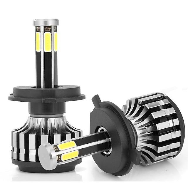 Suministro directo de fábrica de faros LED de automóviles transfronterizos Faros de automóviles LED luminosos de alto brillo de seis lados de 360 grados