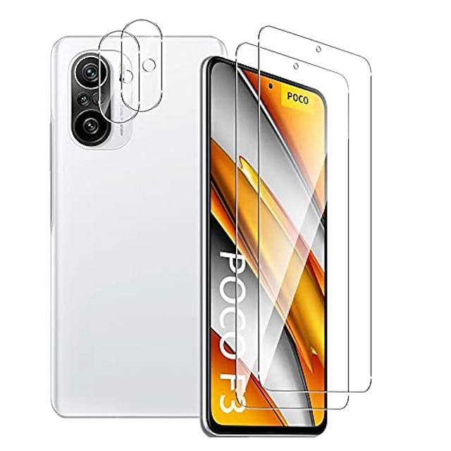Phone Screen Protector For Xiaomi Mi 11 Mi 11 Pro Mi 11 Lite Mi 11 Ultra Tempered Glass 4 pcs High Definition (HD) Scratch Proof Front Screen Protector Phone Accessory