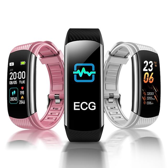C16 Intelligente Guarda Avviso di chiamata Promemoria sedentario Allarme sveglia Monitoraggio frequenza cardiaca Misurazione della pressione sanguigna Informazioni IP 67 per Android iOS Uomini donne