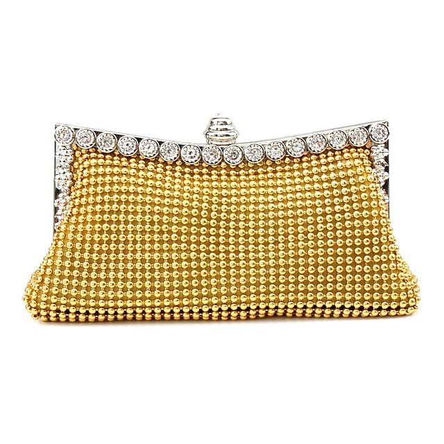 caiyue i02 ladies dinner bag multicolor aluminum bead surface party bag new ladies messenger bag can be issued