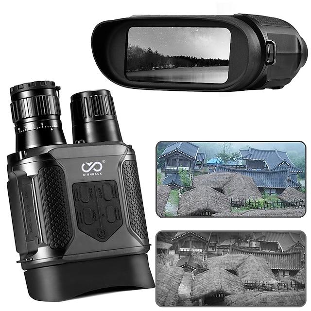 SIGNBACK 3.5-7 X 31 mm Jumelles Lentilles Affichage LCD Coffret de Transport Vision nocturne Zoom 9 m Multi-traitées BAK4 Spectacle Activités Extérieures Militaire