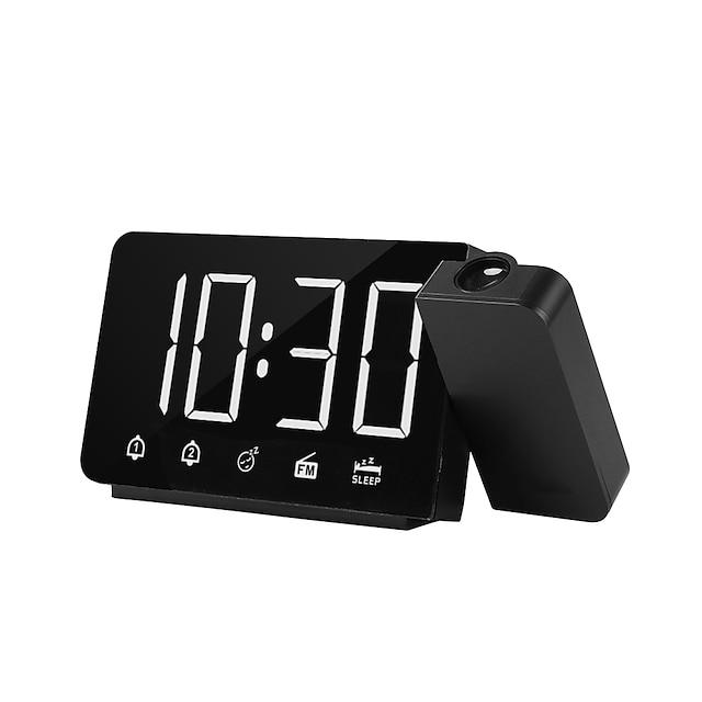 LITBest Έξυπνο ξυπνητήρι TS-3211 Πλαστικά Λευκό Θαλασσί Ρουμπίνι