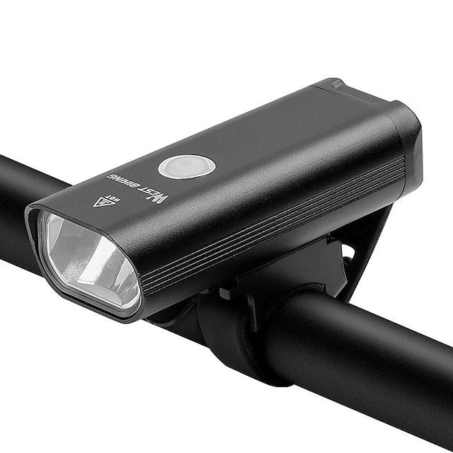 LED Cykellys Forlygte til cykel LED Cykel Cykling Vandtæt Super lyst Holdbar Genopladeligt Li-ion Batteri 1200 lm Usb Hvid Camping / Vandring / Grotteudforskning Dagligdags Brug Cykling