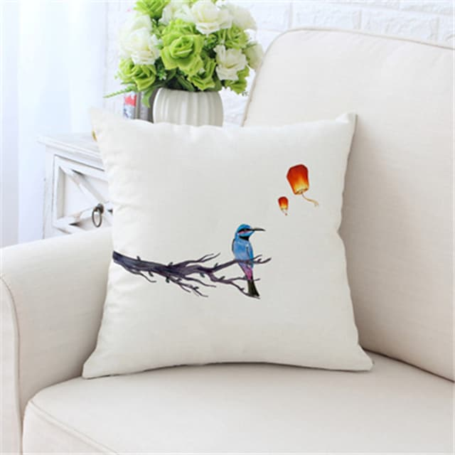 Husă de pernă laterală dublă 1 buc Husă de pernă decorativă moale pătrată Husă de pernă Husă de pernă pentru canapea dormitor Calitate superioară lavabilă în mașină