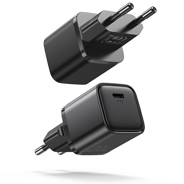 Joyroom 20 W Ισχύς εξόδου Φορτιστής PD Φορτιστής USB Φορτιστής τηλεφώνου Φορητός φορτιστής Φορητό Γρήγορη φόρτιση Για iPad Κινητό τηλέφωνο