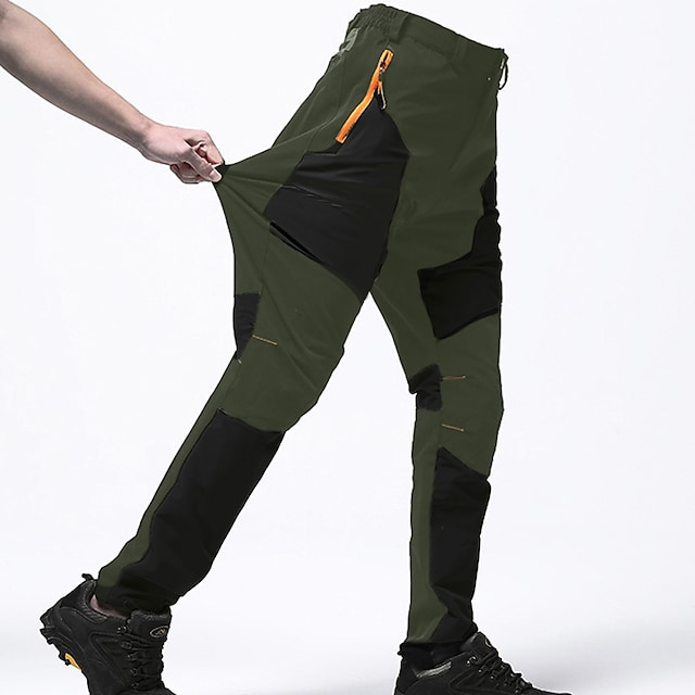 2-Pack Cheap Water Resistant Outdoor Windproof Hiking Trousers Pants