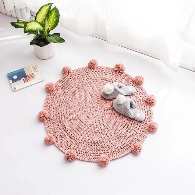 Tapis de tapis en peluche classique tapis de teinture tapis de salon tapis de fenêtre flottant tapis tapis tapis
