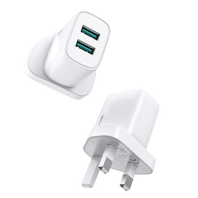 جوي روم 10.5 W انتاج الطاقة USB شاحن يو اس بي شاحن الجوال شاحن متنقل من أجل اى باد الهاتف الجوال