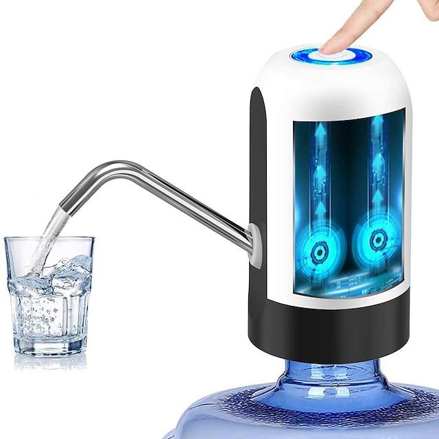 Bomba de garrafa de água de carregamento usb bomba de água potável automática dispensador de água elétrico portátil dispositivo de bombeamento de garrafa de água