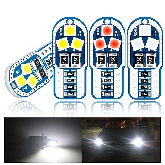 10 pezzi Auto Luce della targa Luci di posizione laterali Lampadine SMD 3030 6 Per Universali Tutti gli anni