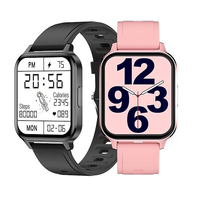 Q18 Intelligente Guarda Bluetooth Pedometro Avviso di chiamata Tracker di fitness Standby lungo Chiamate in vivavoce Anti-perso IP68 Cassa dell'orologio da 38 mm per Android iOS Uomini donne / > 480