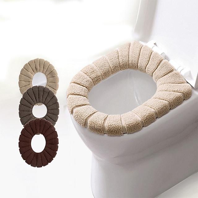 grænseoverskridende græskar flerfarvet toiletsæde pude vaskbart toiletsæde fortykket toilet toiletsæde toiletsæde pude efterår og vinter