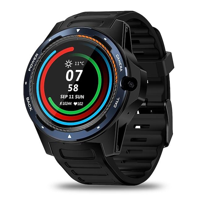 Zeblaze THOR 5 Älykello EKG + PPG Askelmittari Puhelumuistutus Vedenkestävä Kosketusnäyttö GPS 50 mm kellokotelo varten Android Miehet Naiset / Sykemittari / Verenpaineen mittaus / Urheilu