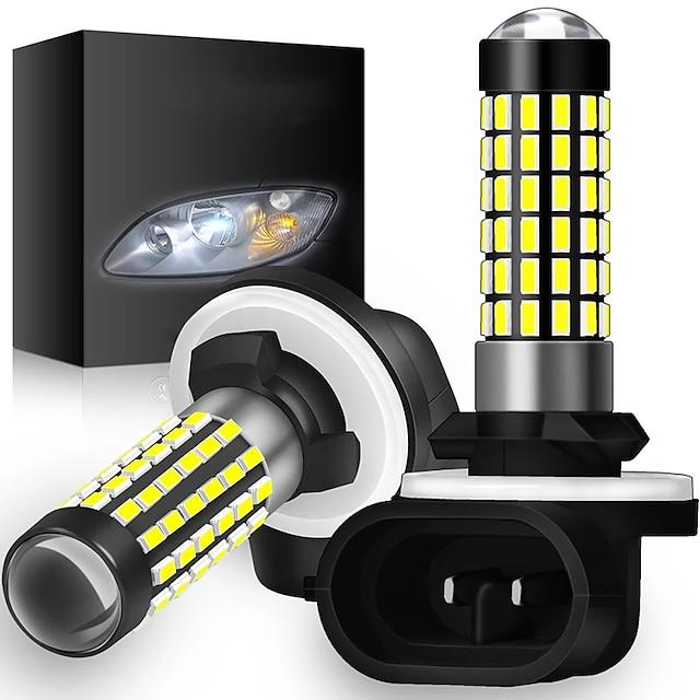 2st Bilar LED Dimljus Glödlampor 1200 lm SMD 3014 78 W 6000 k 78 Till Universell Alla modeller Alla år