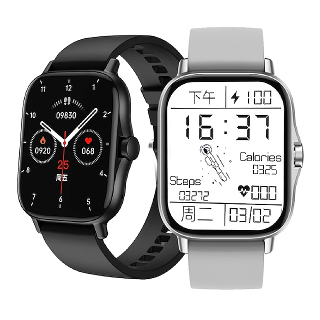 DW11 Smartwatch Fitness Running Watch Bluetooth Sleep Tracker Waterproof Heart Rate Monitor Blood Pressure Measurement IP 67 43mm Watch Case for Android iOS Men Women / Sports / 200-250