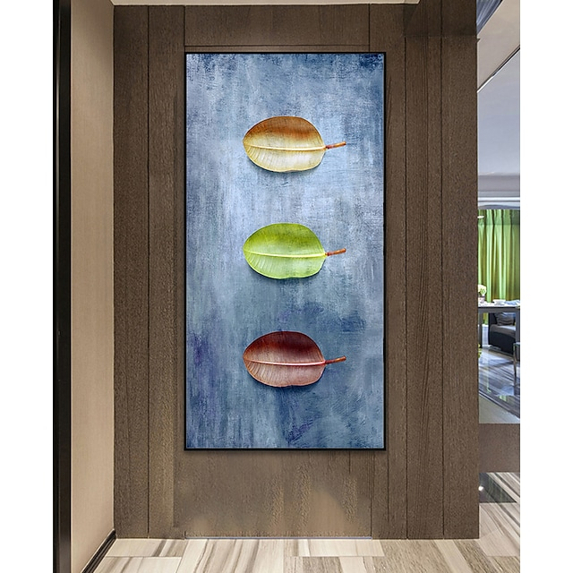 Wall Art Canvas Prints Painting Artwork Picture Contemporary Plant Leaf Home Decoration Décor Rolled Canvas No Frame Unframed Unstretched