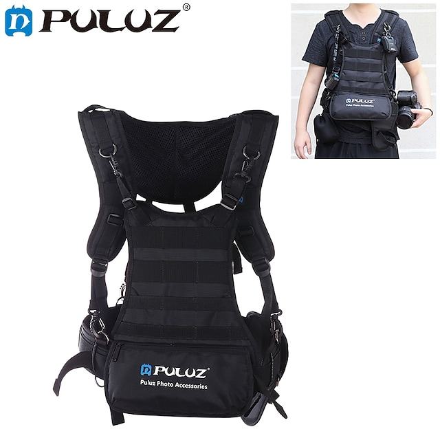 Backpack Camera Bag / Camera Case Waterproof Nylon