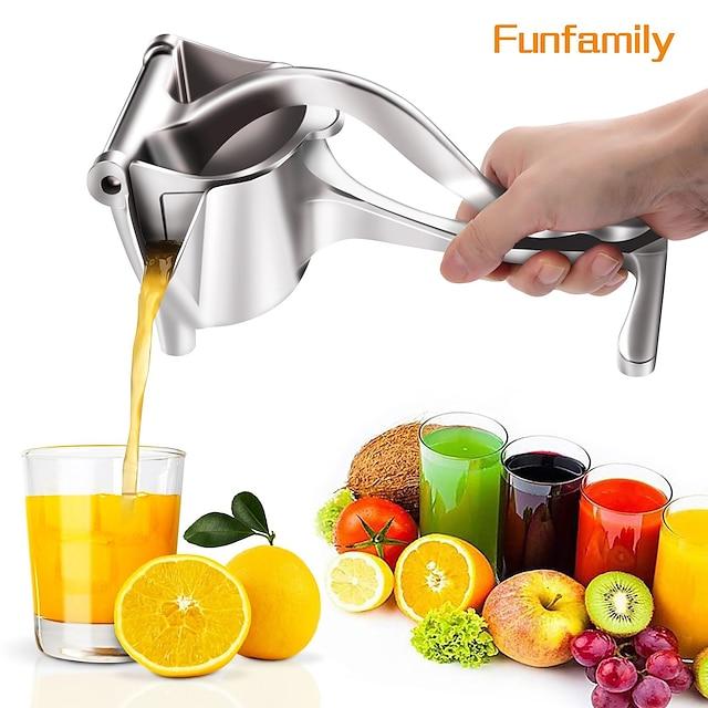 Presse-agrumes manuel en alliage d'aluminium presse-agrumes à main grenade orange citron jus de canne à sucre cuisine fruits outil