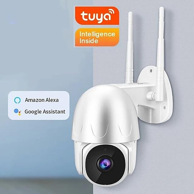 EN-T201W Kamera IP 1080P HD 1080P (1920×1080) PTZ Wi-Fi Na zewnątrz Wsparcie / CMOS
