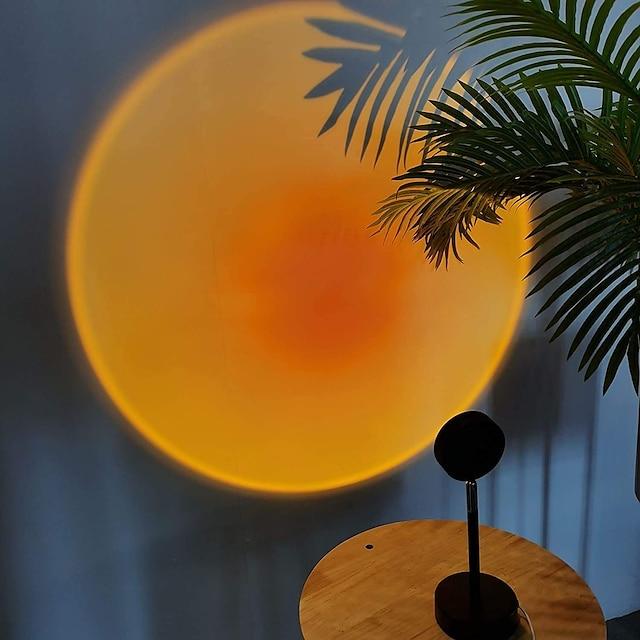 Düzensiz Dekorasyon Işıkları Projektör Işıkları Ambinet Işık LED Gece Işığı Yaratıcı Renkli Gradyan Atmosfer Lambası AÇIK / KAPALI Sevgililer Günü Yeni Yıl'ınkiler USB 1 bilgisayar / ROHS / CE / IP44