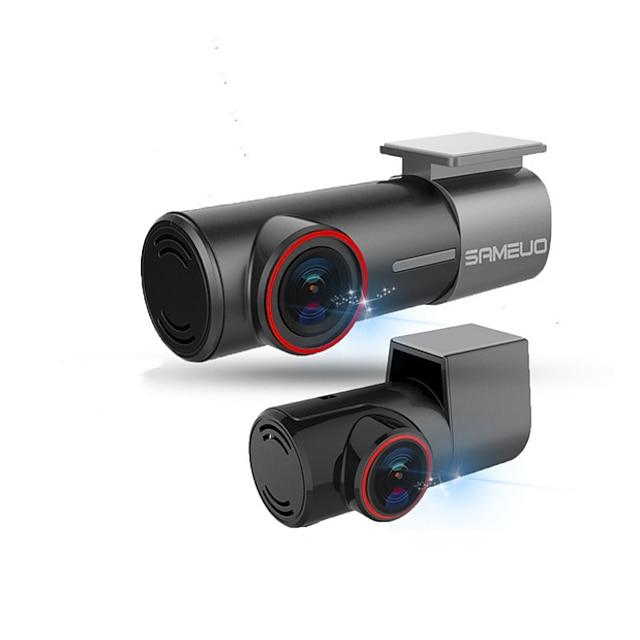 DR-H1U700 720p / 1080p / 1440p 360 ° izleme / Otomatik kayıt önyükleme Araba DVR'si 170 Derece Geniş açı Çizgi Kam ile WIFI / GPS / Gece görüşü Hayır Araba Kaydedici