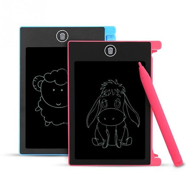 hyd-4401 4,4-tommers lcd skrivetavle digital tegning lcd skjerm tavle bærbar elektronisk håndskrift pads kunst notisblokk med penn for barn jente gutt bursdag nyttårsgave