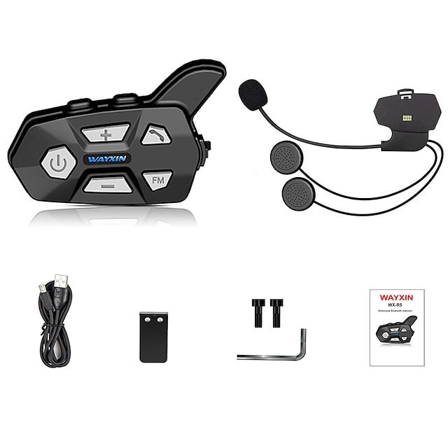 R5 Bluetooth 5.0 Fones de ouvido bluetooth / Cascos auriculares Bluetooth / Durável / Intercomunicação para várias pessoas Motocicleta
