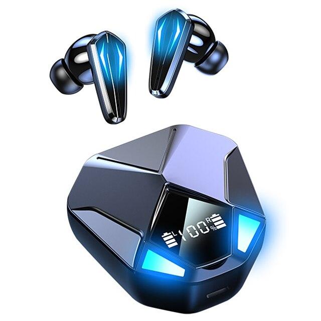 x6 cuffie true wireless tws auricolari bluetooth5.0 design ergonomico stereo bassi profondi per apple samsung huawei xiaomi mi uso quotidiano viaggi all'aperto giochi con cellulare