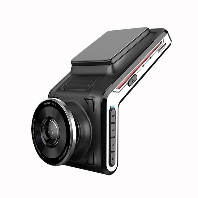 u2000 kojelautakamera edessä ja takana wifi 1440p katso kameran linssi auton dvr ja 2 kameran videonauhuri 24 tunnin automaattinen pimeänäkö pysäköintitila