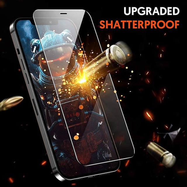 3PCS Tempered Glass For iPhone 13 12 11 Pro Max 12 Mini Protective Films For iPhone 12 11 X XS MAX XR SE 2020 8 7 6 Plus 5 se Full Cover Screen Protector Tempered Glass